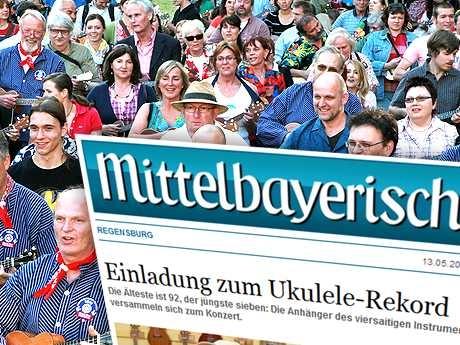 Ukulele-Deutschlandrekord