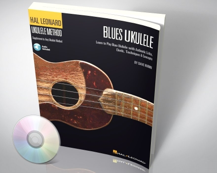 Blues Ukulele – Licks Chords Techniques  (mit Audio CD)