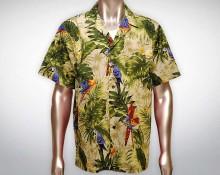 Hawaiihemd Manu - Beige