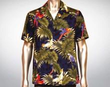 Hawaiihemd Manu - Blau