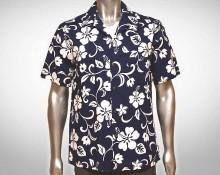 Hawaiihemd Maui - Blau
