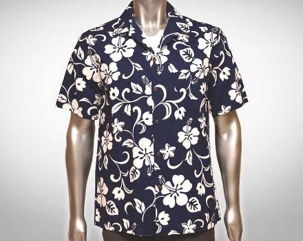Hawaiihemd Maui – Blau