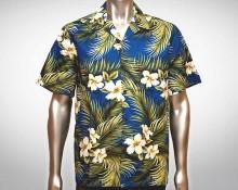 Hawaiihemd Molokai - Blau