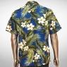 Hawaiihemd Molokai – Blau