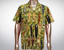 Hawaiihemd Waimea - Beige