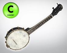 Concert Banjo Ukulele - KA KA BNJ BK C