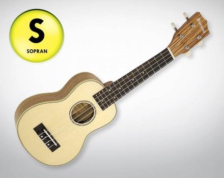 Sherwood SHU30 – Zebrano mit Fichte