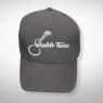 Baseball Cap mit aufgesticktem Ukulele-Fieber Logo – Grau