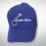 Baseball Cap mit aufgesticktem Ukulele-Fieber Logo – Blau