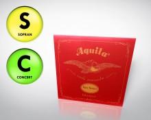 Aquila einzelne Sopran/Concert G-Saite - für tiefe G Stimmung
