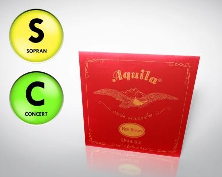 Aquila einzelne Sopran/Concert G-Saite – für tiefe G Stimmung