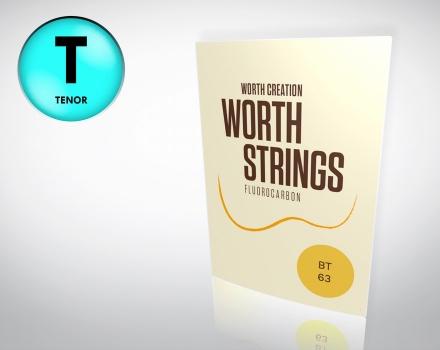 Worth Strings BT Tenor Ukulele – Saiten Satz